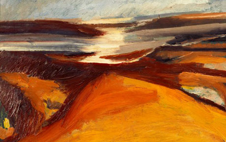 Exeter's RAMM acquires North Devon landscape by David Bomberg