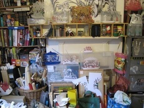Helen Snell's workspace