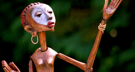 PuppetCraft theatre's Circle of Tales in Dartington