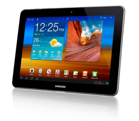 Put the galaxy at your fingertips with the Samsung Galaxy Tab