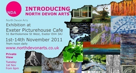 North Devon Art and artists head to Exeter