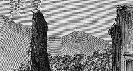 detail of Salvatore Arancio Active Spatter Cone Upon Rocks and Boulders