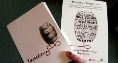 Exeter Ignite, a new theatre and arts festival for the South West