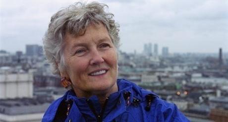 Folk singer Peggy Seeger