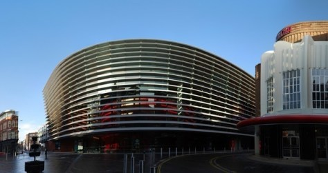 Curve Theatre By NotFromUtrecht (Own work) [CC-BY-SA-3.0 (http://creativecommons.org/licenses/by-sa/3.0) or GFDL (http://www.gnu.org/copyleft/fdl.html)], via Wikimedia Commons
