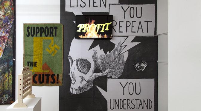 PIGDOGANDMONKEYFESTOS in Exeter: an engaging assemblage of diverse artistic thinking