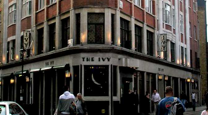 Go People take restoration production to venues throughout London – including The Ivy