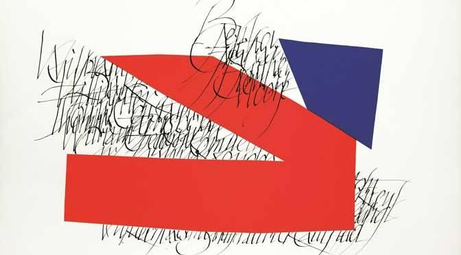 British Flag lithograph