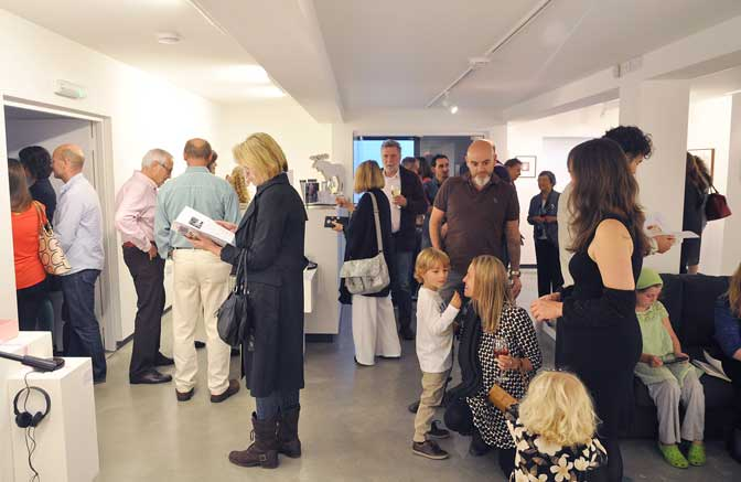 Private View, Project AfterBirth, 2 Oct 2015. Courtesy of Chris Lewis.
