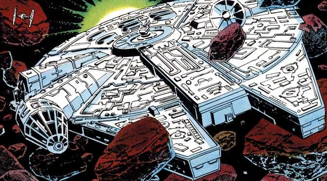 detail SLE Star Wars #41 - The Empire Strikes Back - Imperial Pursuit