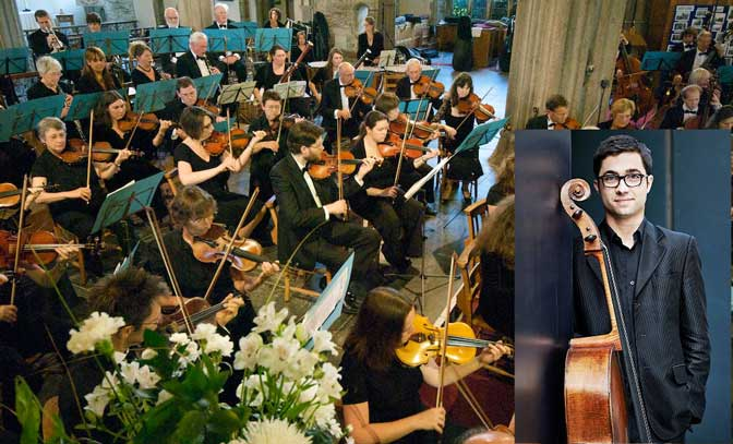 Stars emerge: Plymouth Symphony Orchestra with Michael Petrov at Plymouth Guildhall