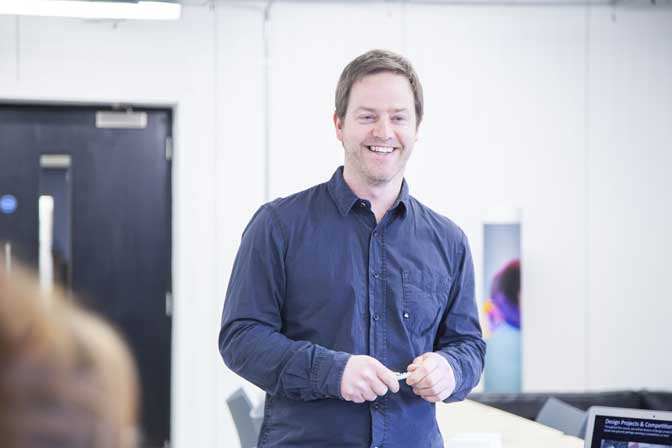 Jamie Billing joins Plymouth College of Art