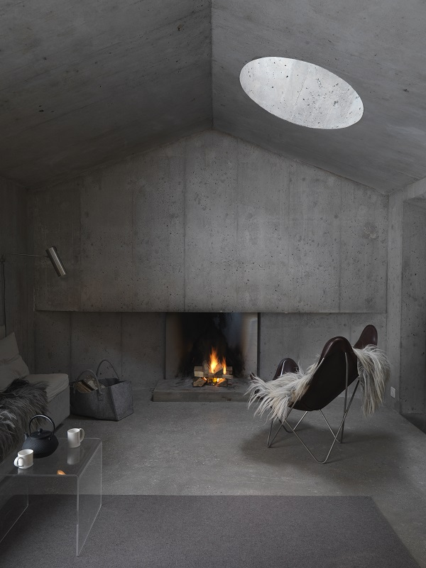Interiors_Refugi dil fieu, Flims, Switzerland_Photograph by Mads Mogensen