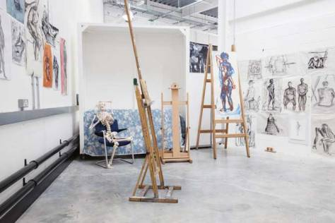 Drawing Studio at Plymouth College of Art