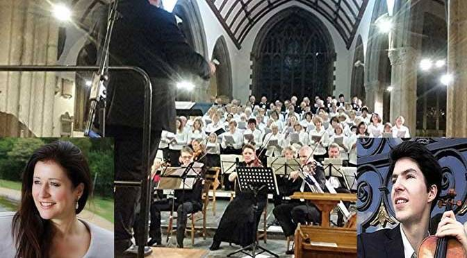 University of Plymouth Choral Society, with Carolyn Dobbin and Pierre-Emmanuel Largeron