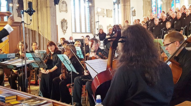 Enthusiasm, charisma and drive: The Palace Theatre Choir, Philharmonia and Soloists at The Minster Church of St Andrew