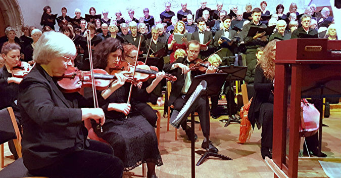 Haydn's The Seasons treated with élan by Dartington Community Choir and the newly-formed Dartington Sinfonietta