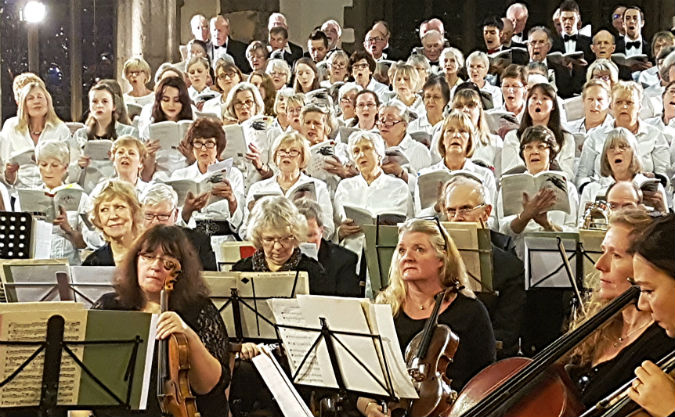 Charismatic Christmas concert from the University of Plymouth Choral Society