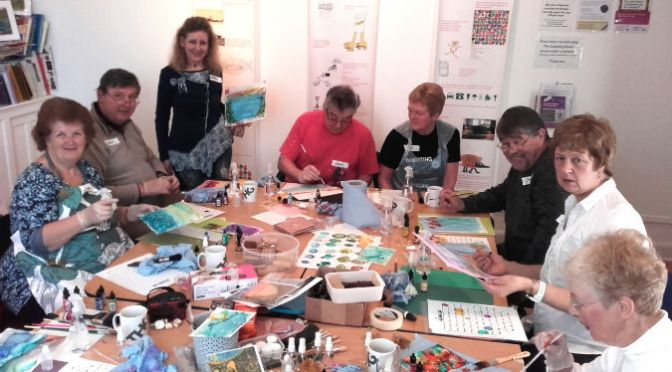 East Devon's THG Gallery demonstrates power of art with Painting for Parkinson's