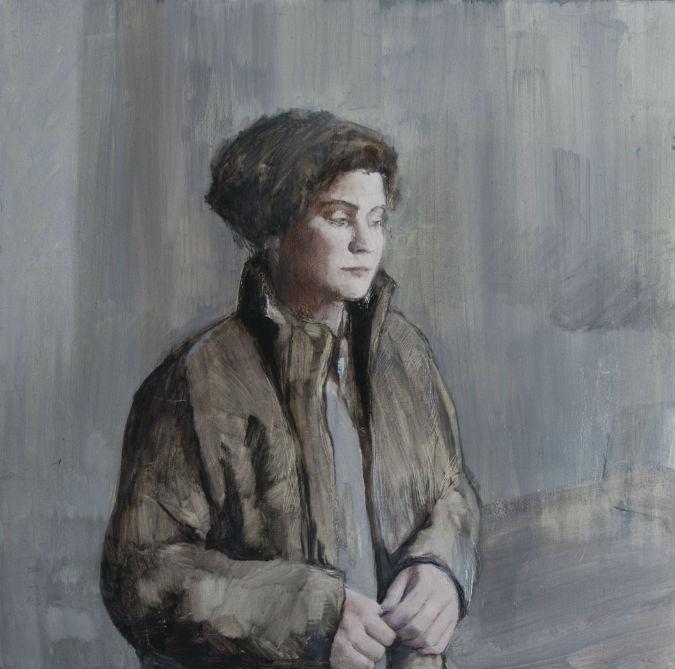 Spanish artist's portrait of German girl wins major British art prize