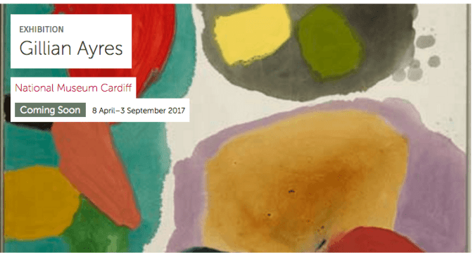 Gillian Ayres National Museum Cardiff
