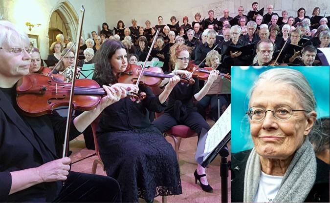 Poignant, warm, impassioned: Dartington Community Choir with narrator Vanessa Redgrave at the Great Hall, Dartington