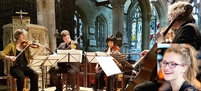 Crafting constantly-changing emotions: Dante Quartet with Alinka Rowe at Tavistock Parish Church