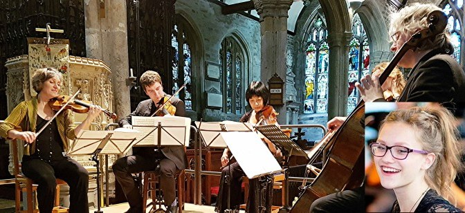 Dante Quartet with Alinka Rowe (inset)