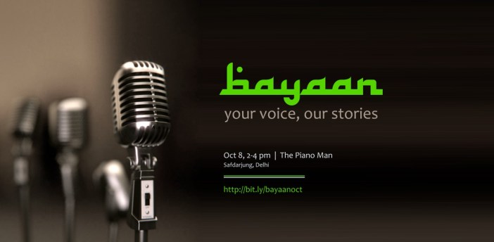 Bayaan: A medium to tell your stories to the world