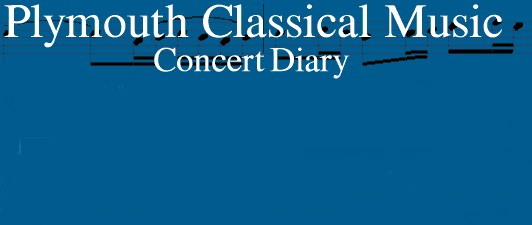 Plymouth Classical Music concert diary