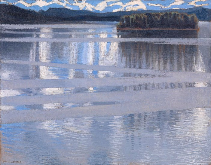 Lake Keitele and a vision of Finland at the National Gallery