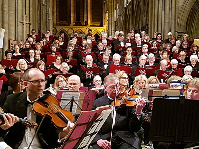 'Proper Job!': Three Spires Singers and Orchestra in the lovely surroundings of Truro Cathedral (review)
