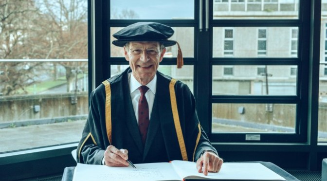 Plymouth College of Art awards Honorary Fellowships to Sir Nicholas Serota and Richard Deacon CBE