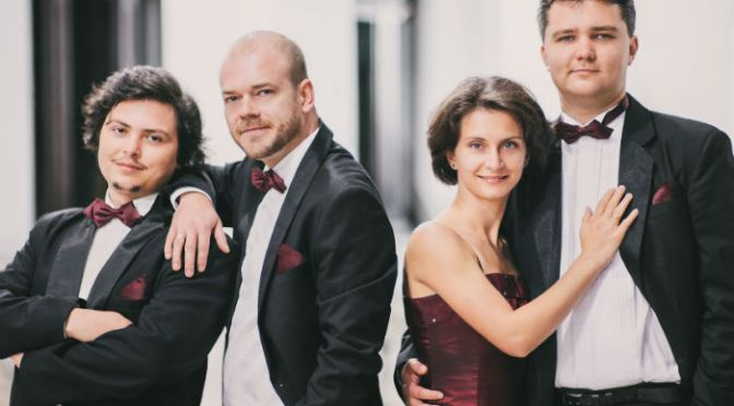 'One of the most exciting string quartets of their generation' – Arcadia String Quartet in Devon for NADSA as part of European tour