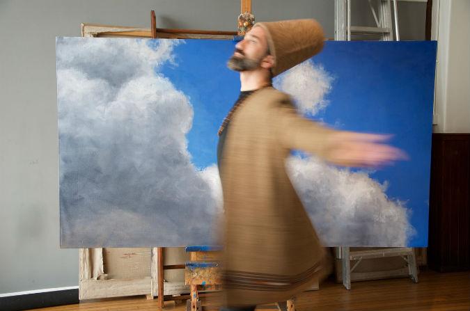 Inspired by creative revolution | Iranian artist Darvish Fakhr's No Man's Land