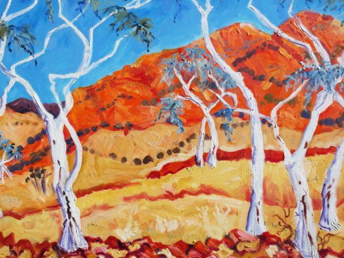 Janette Jagger Central Australia