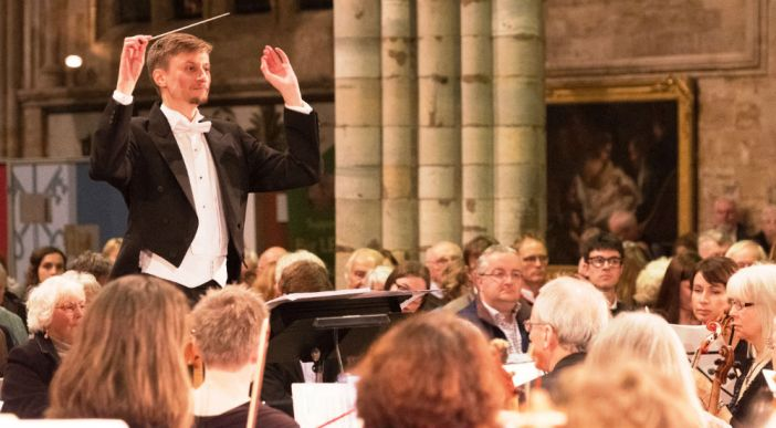 EMG Symphony Orchestra concert celebrates 150th RAMM anniversary at Exeter Cathedral