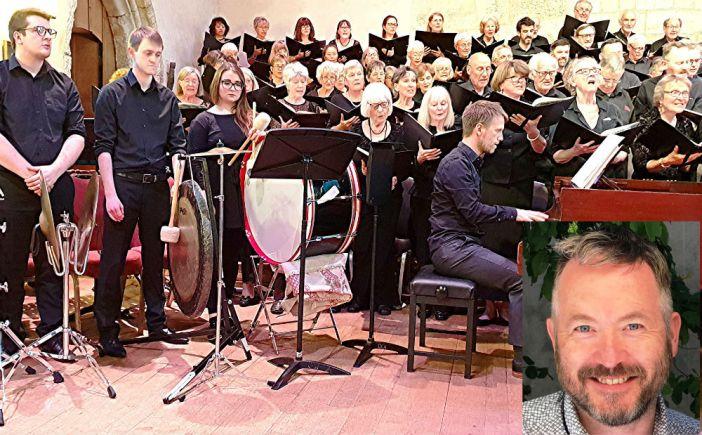 Drive, enthusiasm, and sheer musicality on show as Dartington Community Choir perform Carmina Burana at the Great Hall, Dartington