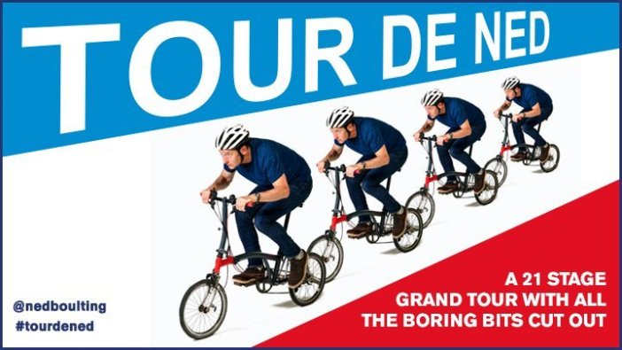 Tour de Ned gets to the razor-like seat of the Tour de France, courtesy of Ned Boulting
