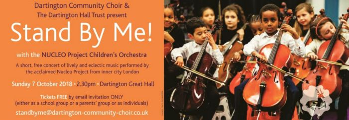 Stand By Me with the Nucleo Project Children's Orchestra and Dartington Community Choir with Dartington Hall Trust