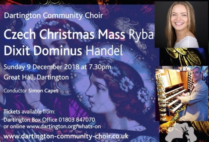Dartington Community Choir – Christmas Concert, more details