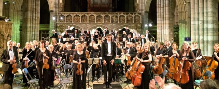 Music supports and unites – EMG concert at Exeter Cathedral