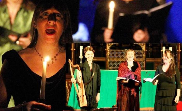 Hildegard's mesmeric chants in Visions at Totnes