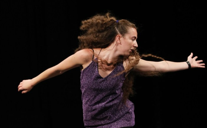 And | solo dance by Charlotte Mclean on the world now