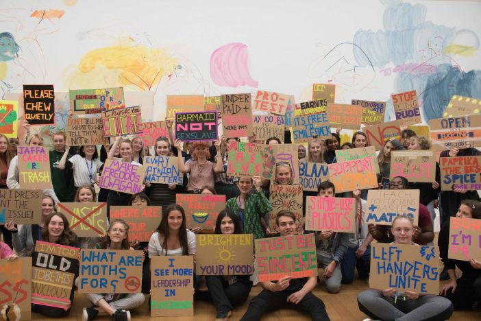 PCA leads protests in Late at Tate Britain: Social Justice