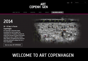 Art Fair- Art Copenhagen 2014