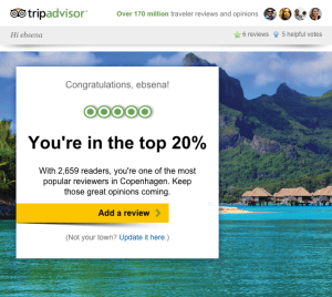Top Tripadvisor Reviewer