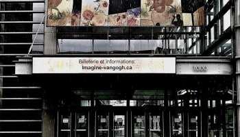 Imagine Van Gogh Québec au Centre de Congrès de Québec Photo @Lise Breton