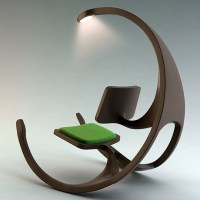 Integrated Rocking Chair with Light
