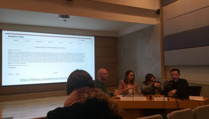 """O Arquivo LdoD No Colóquio """"Novos Estudos Pessoanos"""""""